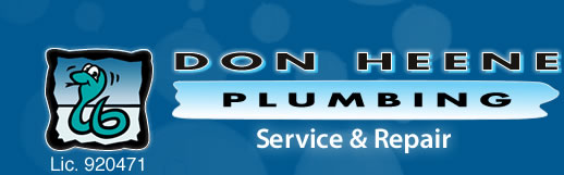 Logo of Don Heene Plumbing, Service and Repair